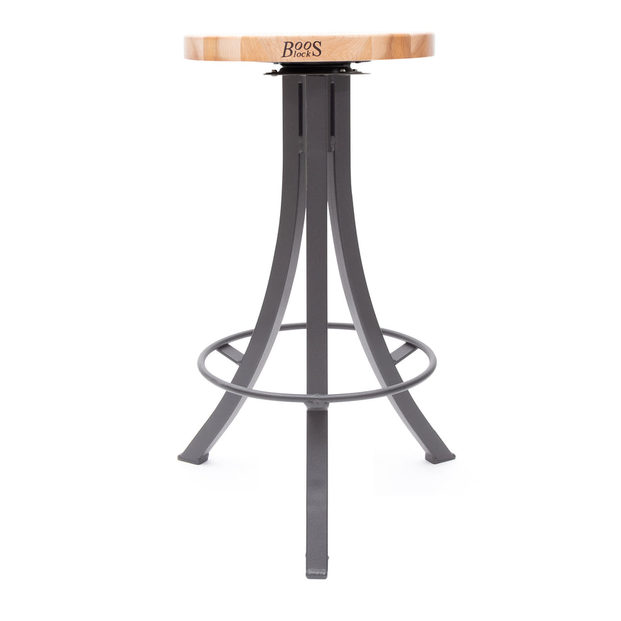 Foundry Collection Northern Hard Rock Maple Bistro Stool with Swivel