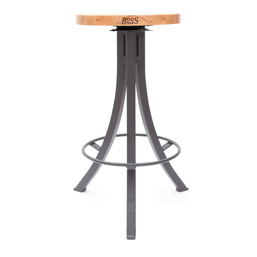 Foundry Collection Appalachian Red Oak Bistro Stool with Swivel