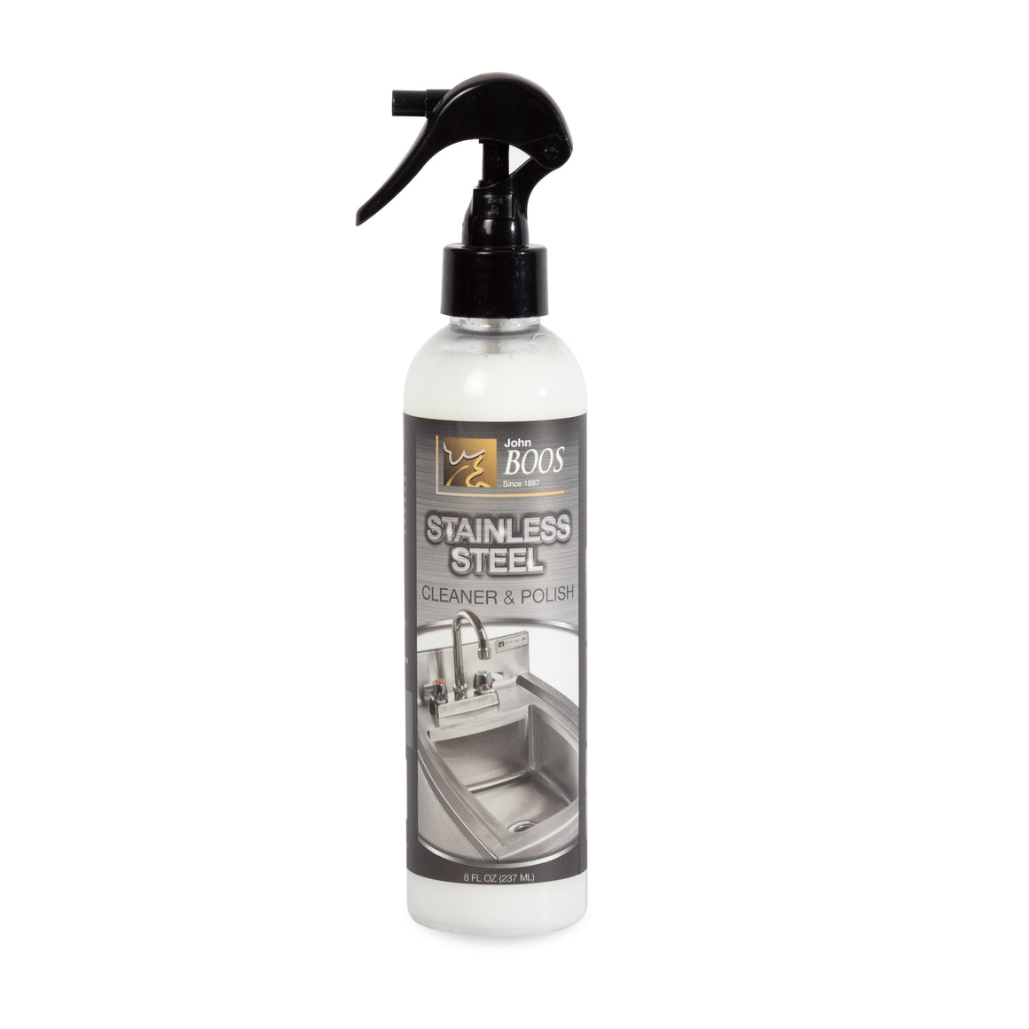 Stainless Steel Cleaner & Polish 8 oz. - New Formula!