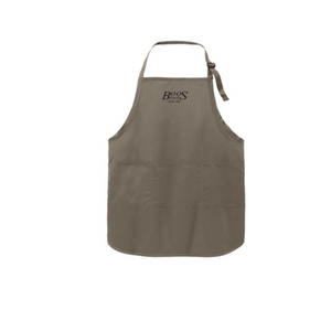 "Boos Full Length 30"" Apron - Red, Black or Khaki"