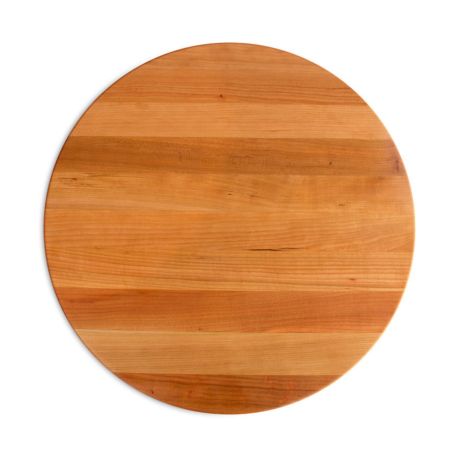 "Cherry Round Cutting Board 18"" Diameter (R-Board Collection)"