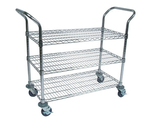 "Wire Bussing Cart -18"" x 36"""