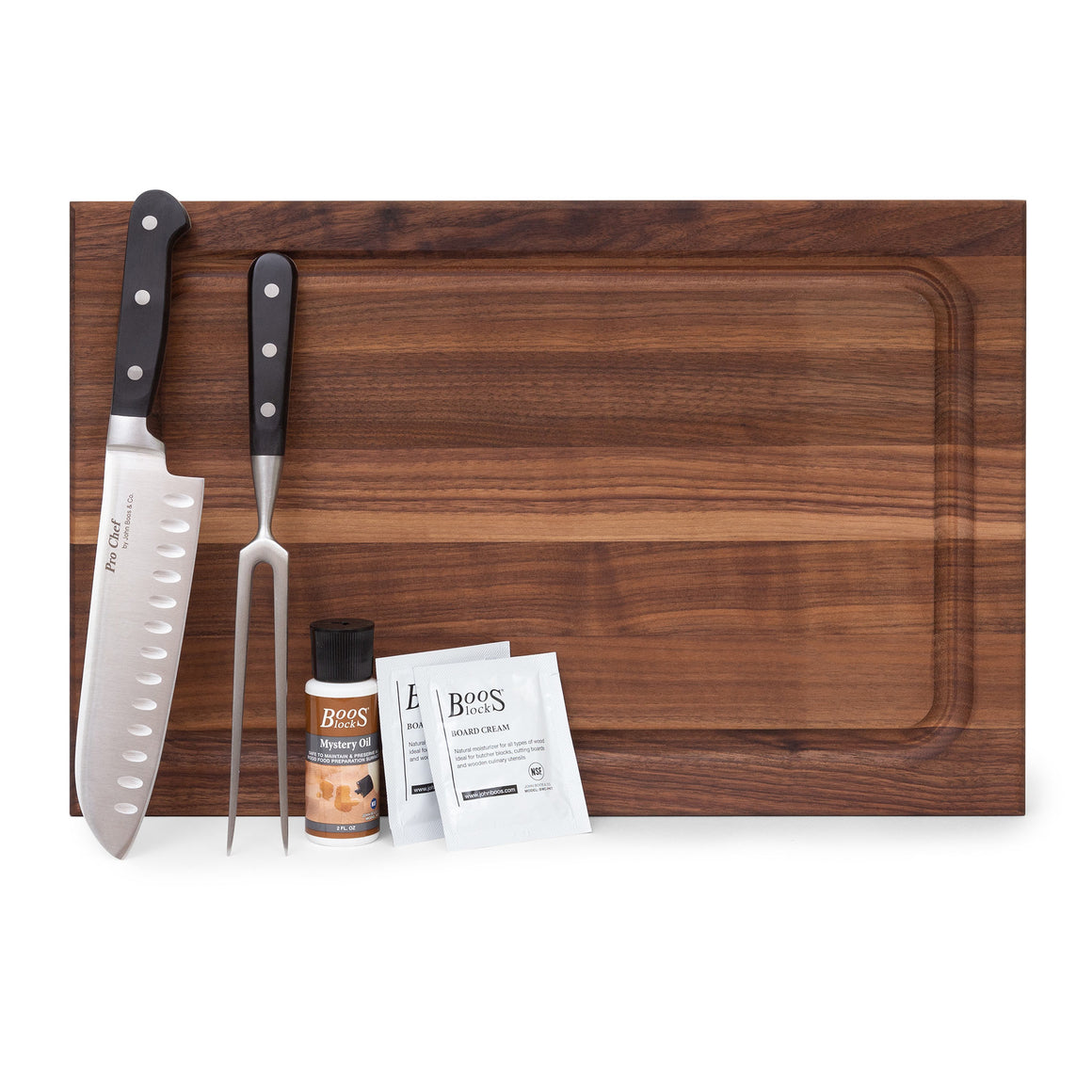 Barbeque Master Walnut Board Gift Pack (GP 28)