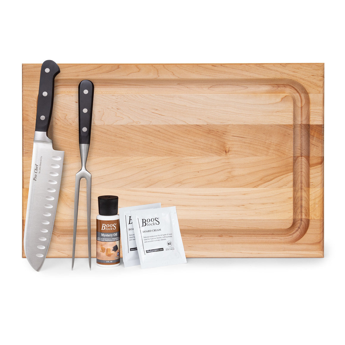 Barbecue Master Maple Board Gift Pack (GP 30)