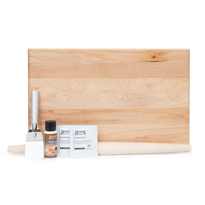 "For the Baker -18"" Maple Cutting Board Gift Pack (GP 32)"
