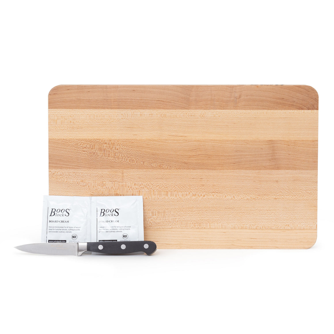 "16"" Maple Cutting Board Gift Pack (GP 3)"
