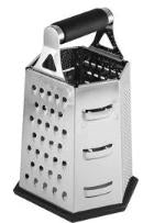 Grater-Tablecraft Soft Grip Box w/6 Sides