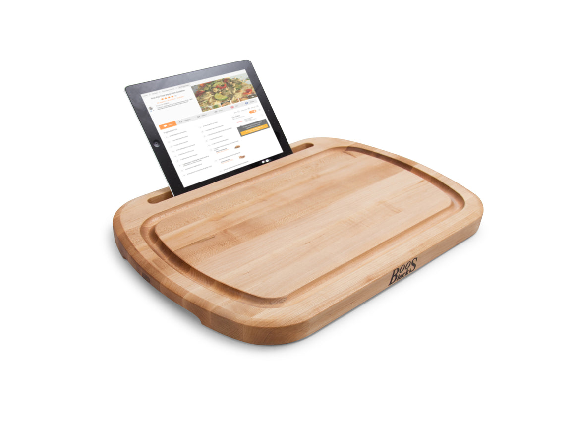 I-Block Pro Tablet/Smart Phone Stand and Cutting Board