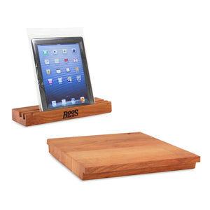 Cherry iBlock Cutting Board & Mobile Device Stand