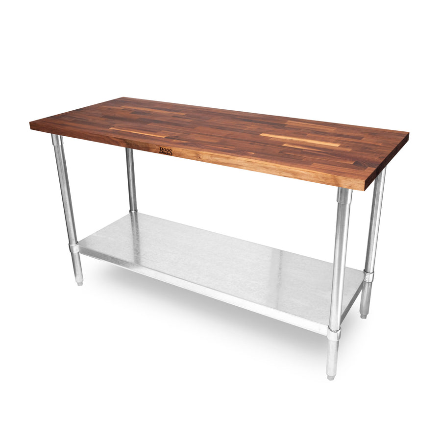 """JNS"" Walnut Work Top Table - 1-1/2"" Thick"
