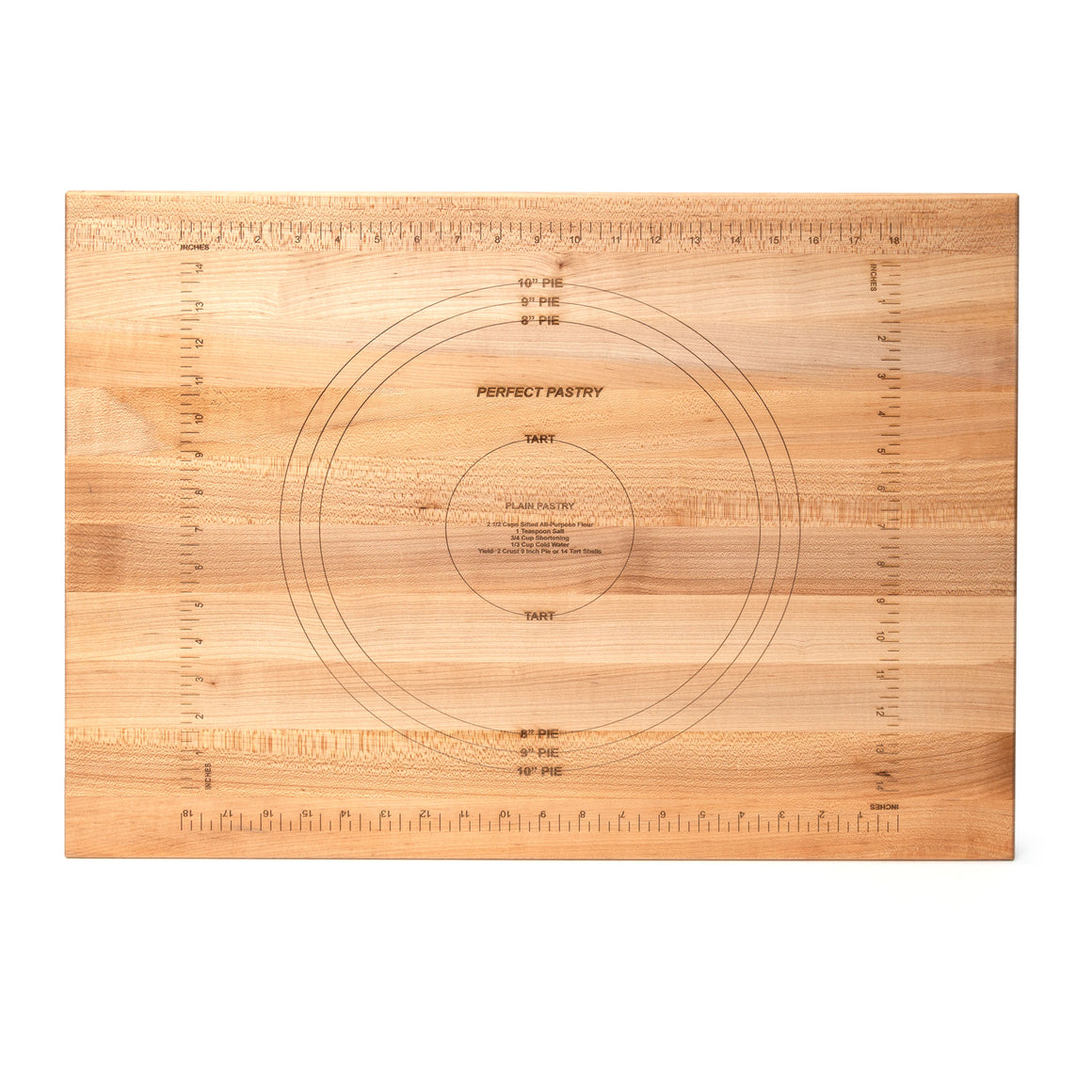 Maple Pastry Prep Board - Reversible