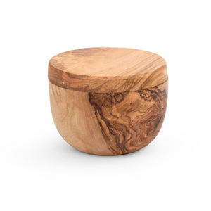 JOHN BOOS natural olive wood collection SALT CELLAR HOLDER