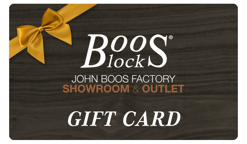 John Boos Factory & Showroom Outlet Gift Card