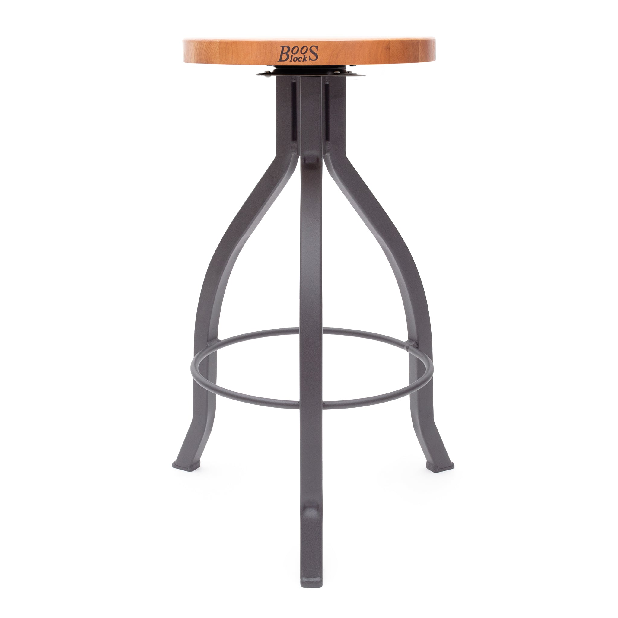 Foundry Collection American Cherry Pub Stool With Swivel
