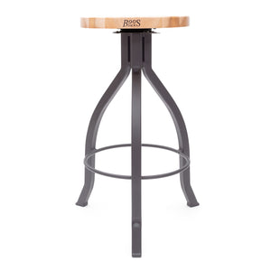 Foundry Collection Northern Hard Rock Maple Pub Stool with Swivel