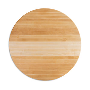 "Maple Round Cutting Board 1-1/2"" Thick (R-Board Collection)"