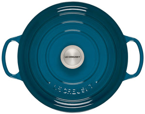 Le Creuset Signature Round Dutch Oven - Deep Teal