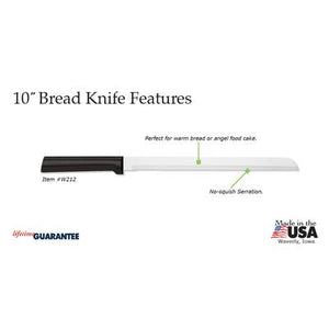 "RADA 10"" BREAD KNIFE"