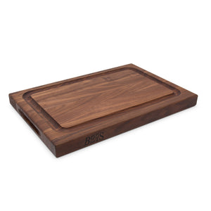 Walnut BBQ Cutting Board with Juice Groove (Professional Collection)