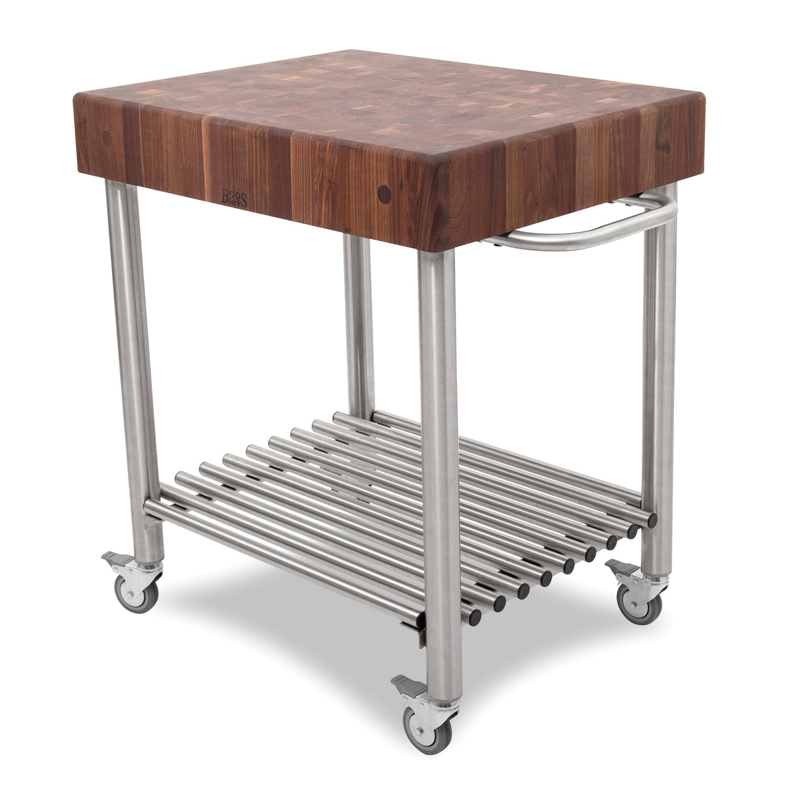 "Walnut Cucina D'Amico Cart - 30"" X 24"""