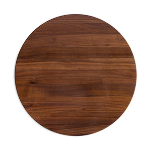 "Walnut Round Cutting Board 1-1/2"" Thick (R-Board Collection)"