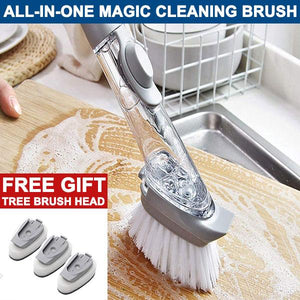 50% OFF Today | ALL-IN-ONE MAGIC CLEANING BRUSH