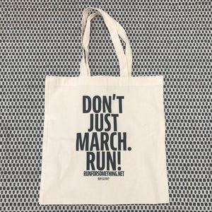 Run for Something Tote Bag