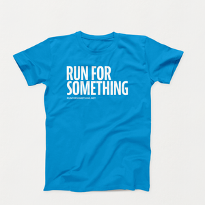 Run for Something Blue Unisex Crew