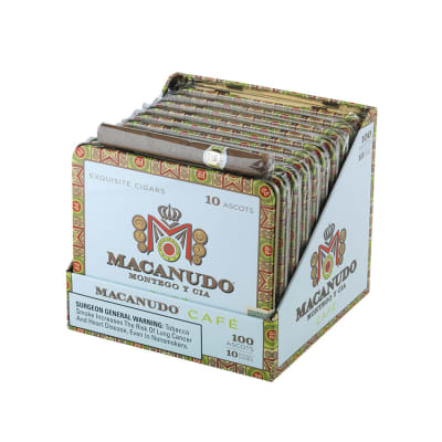 Macanudo Cafe Ascots Tin (10 Tins of 10 Cigars)