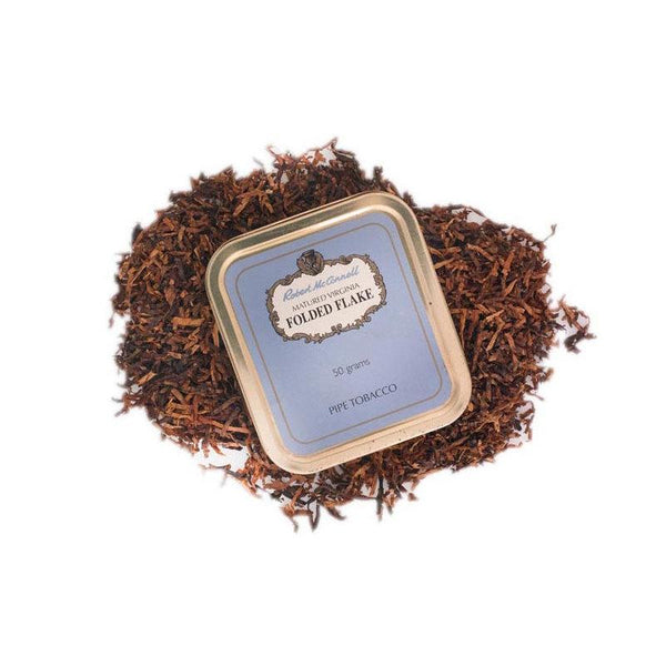 robert-mcconnell-folded-flake-pipe-tobacco