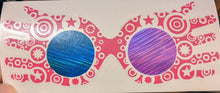 Load image into Gallery viewer, Harry Potter Luna Lovegood Decorated Spectrespecs with Holographic Lenses Vinyl Decal