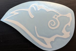 Skyrim Inspired Stormcloak Crest Vinyl Decal