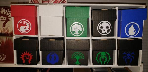 Magic The Gathering Guilds of Ravnica Azorius Decal for your deck box, laptop