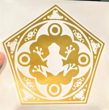 Load image into Gallery viewer, Harry Potter Inspired Chocolate Frog Card Vinyl Decal for Car, Yeti, Electronics, Home