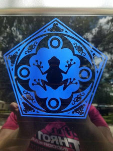 Harry Potter Inspired Chocolate Frog Card Vinyl Decal for Car, Yeti, Electronics, Home