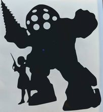 Load image into Gallery viewer, Bioshock Big Daddy/Little Sister Vinyl Decal for Car, Home, Yeti, Electronics