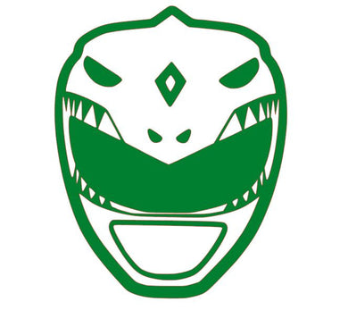 Mighty Morphin' Power Rangers Green Ranger Vinyl Decal for Car/Home/Yeti/Laptop
