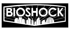 Detailed Bioshock Inspired Logo with Rapture Sil. Vinyl Decal for Car, Home, Electronics
