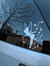 Load image into Gallery viewer, Tinkerbell w/ Stars and Wand Vinyl Decal for Car, Home, Electronics, Yeti