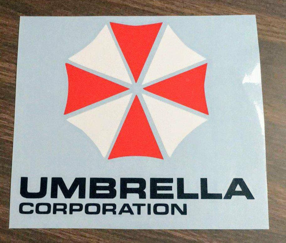 Resident Evil Umbrella Corp Logo Multi-Colored Vinyl Decal for Car, Home, Laptop, Yeti