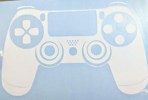 Playstation and PS4 Game System Controller Vinyl Decals for Car, Laptop or Home Decor