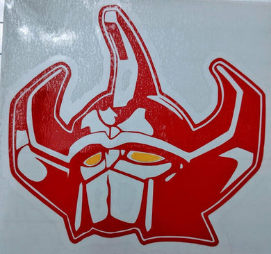 Mighty Morphin' Power Rangers Megazord Vinyl Decal for Car, Home, Electronics, Tumblers