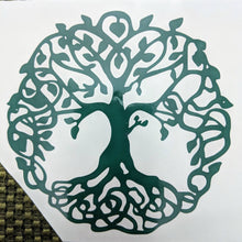 Load image into Gallery viewer, Tree of Life w/ Branches and Roots Vinyl Decal for Car, Home, Yeti, Laptop