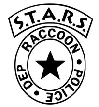 Load image into Gallery viewer, Resident Evil S.T.A.R.S Raccoon City Police Dept. Badge Vinyl Decal for Car, Home, Laptop, Yeti