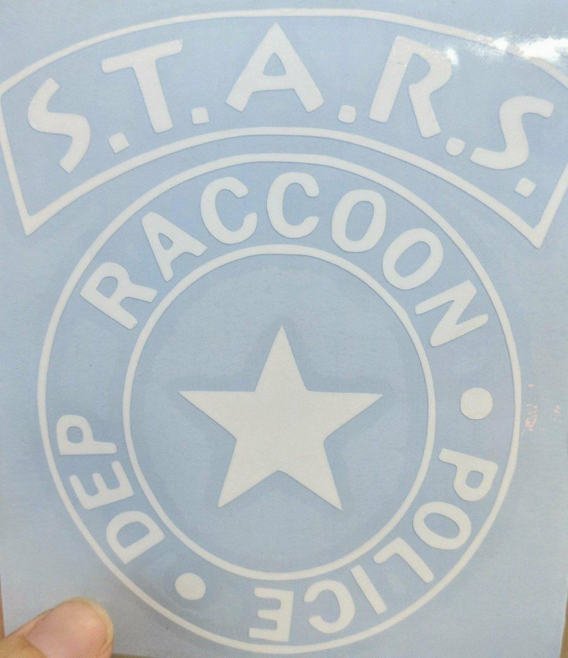 Resident Evil S.T.A.R.S Raccoon City Police Dept. Badge Vinyl Decal for Car, Home, Laptop, Yeti