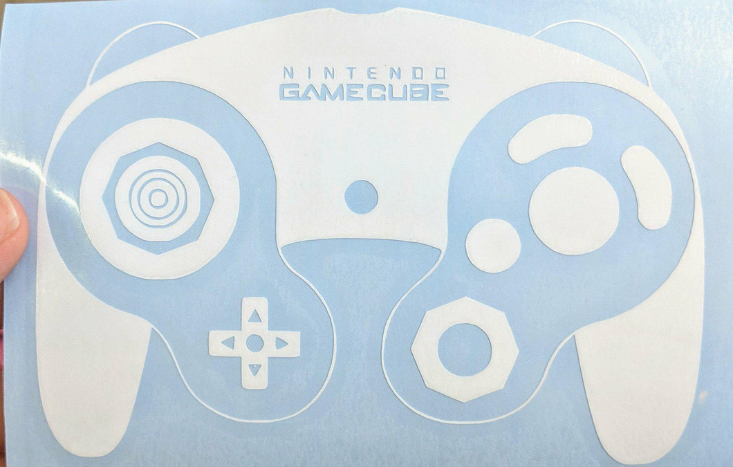 GameCube, N64, Wii, and Super Nintendo Classic Controller Vinyl Decals