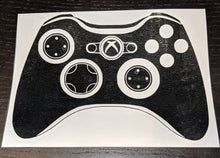 Load image into Gallery viewer, Xbox 360 and Xbox One Controller Vinyl Decals for Car or Home Decor (Buy Separately or Together