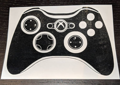 Xbox 360 and Xbox One Controller Vinyl Decals for Car or Home Decor (Buy Separately or Together