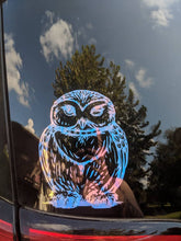 Load image into Gallery viewer, Harry Potter Inspired Winking Hedwig Owl Vinyl Decal for Car/Home/Yeti