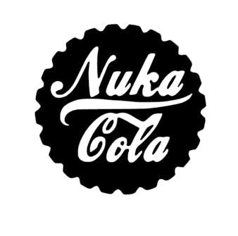Fallout Video Game Inspired Nuka Cola Bottle Cap Vinyl Decal for Car, Home, Laptop, Yeti